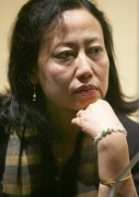 Indian author Mamang Dai speaks to repor