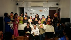 The book launch of Defiant Dreams at Weaver's Studio Kolkata
